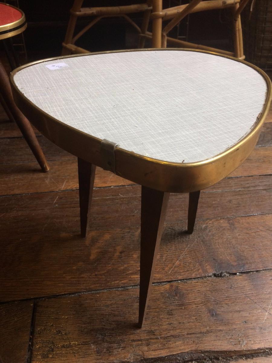 Table Basse En Formica table basse tripode pied compas en formica vintage