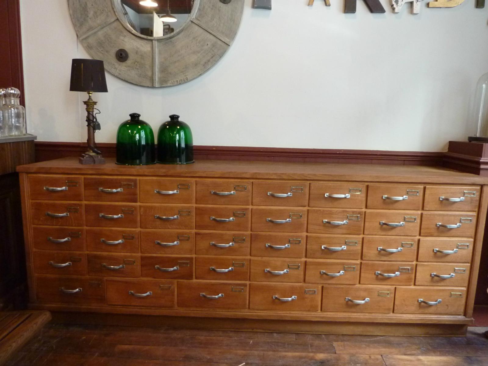 Meuble de mercerie 38 tiroirs archives boutique for Boutique de meuble