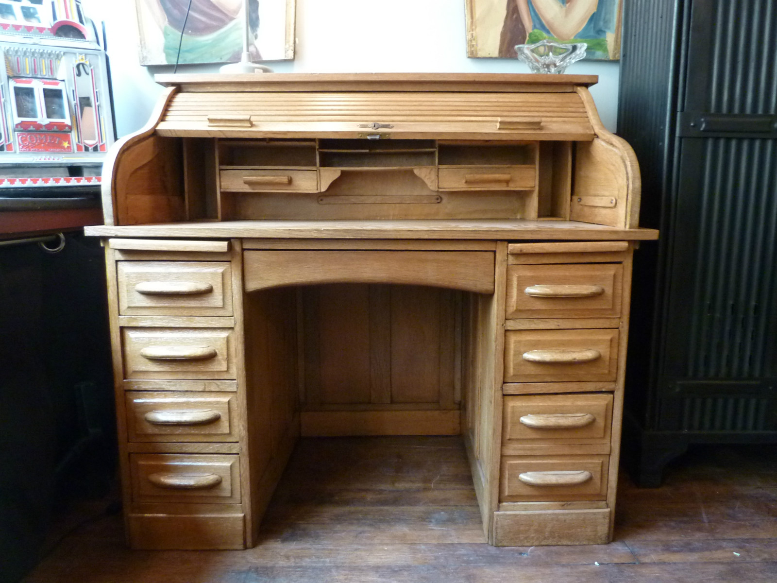 bureau am ricain ann e 50 boutique broc martel. Black Bedroom Furniture Sets. Home Design Ideas