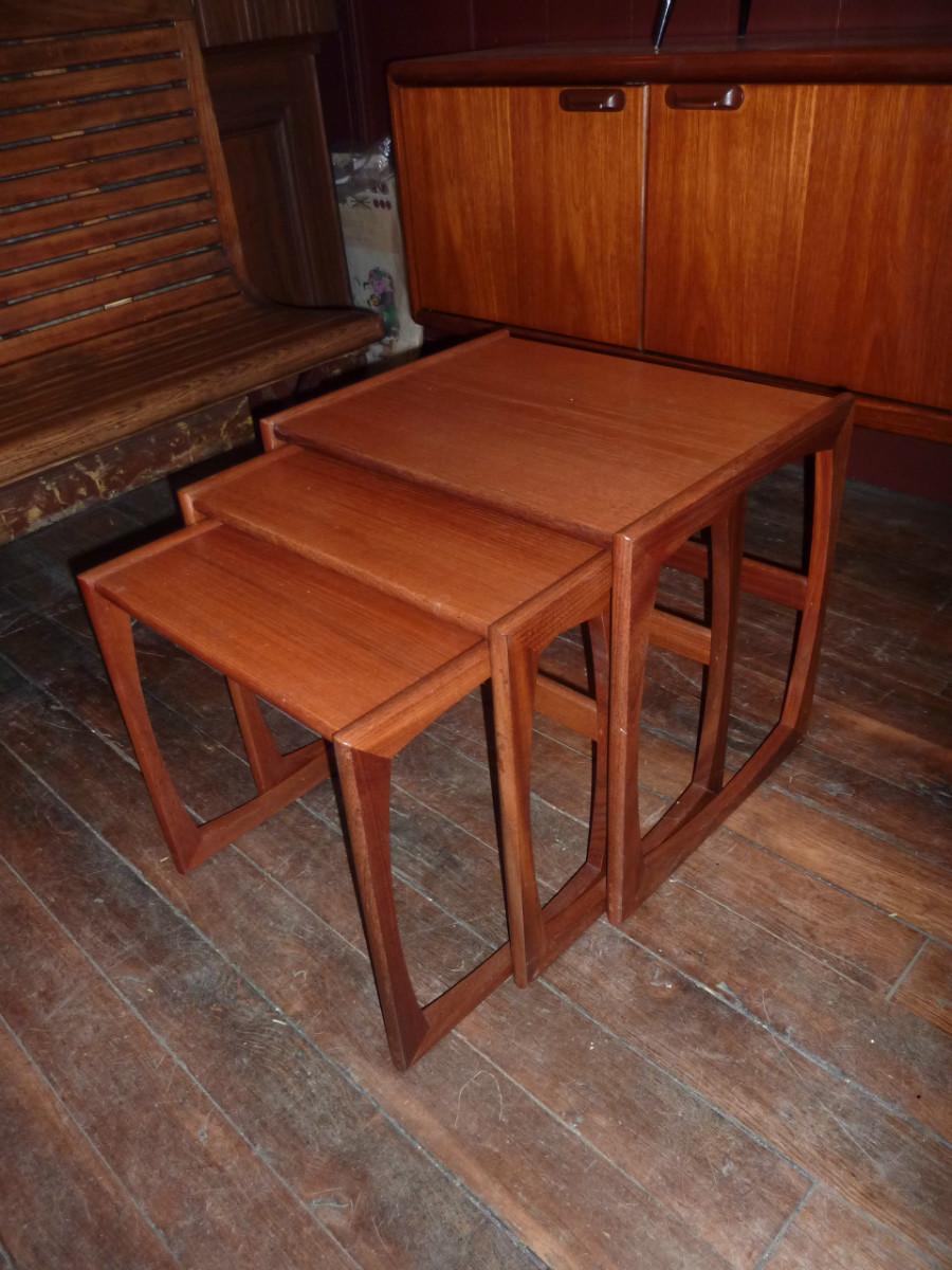 tables gigogne scandinave en teck archives boutique broc martel. Black Bedroom Furniture Sets. Home Design Ideas