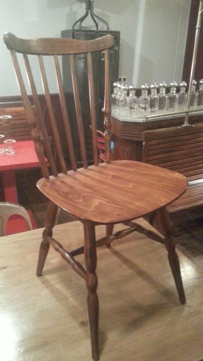 Chaises de bistrot baumann en h tre archives boutique for Barreau de chaise
