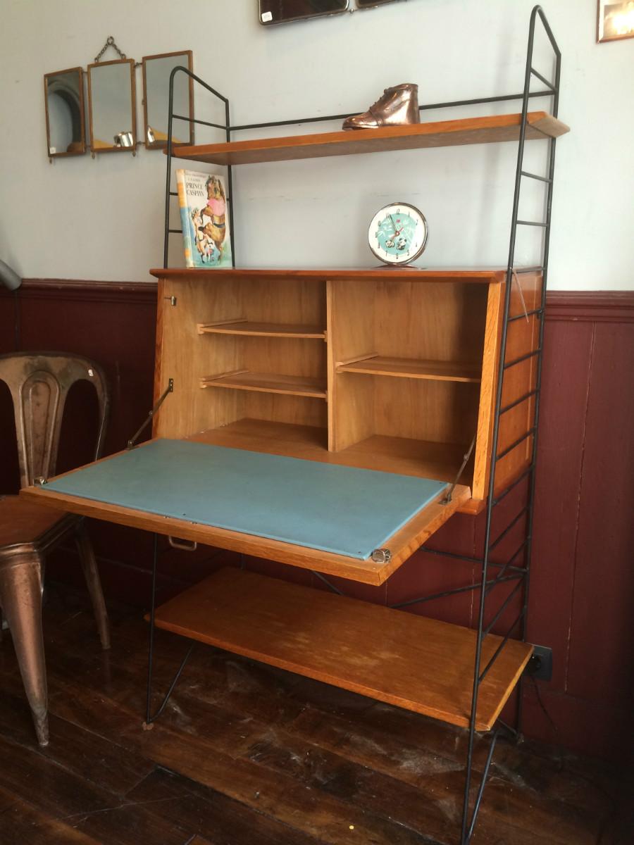 Meuble Secretaire Bibliotheque String Vintage Archives Boutique