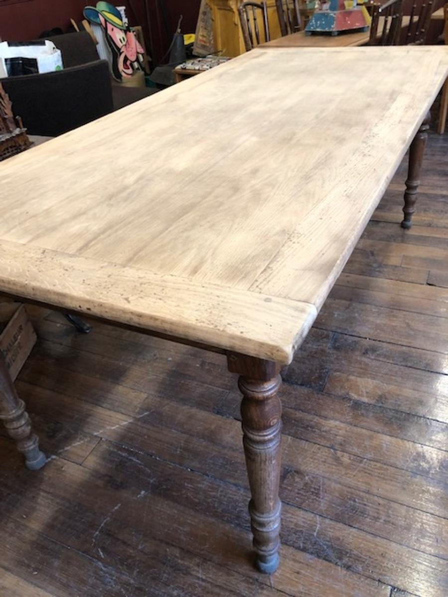 Grande table de ferme   Archives   Boutique   Broc' Martel
