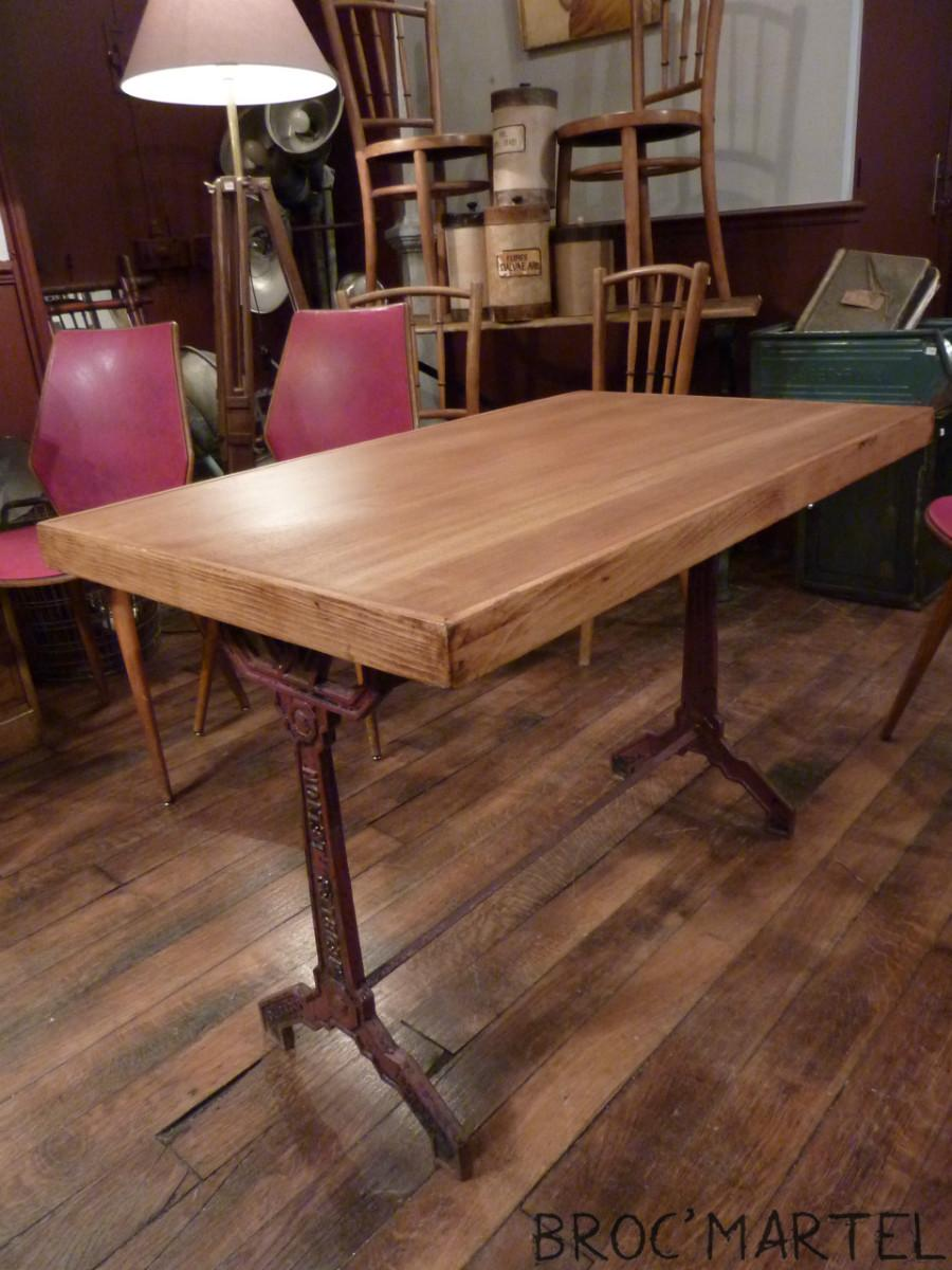 Table De Bistrot Ann E 40 Mobilier Boutique Broc Martel