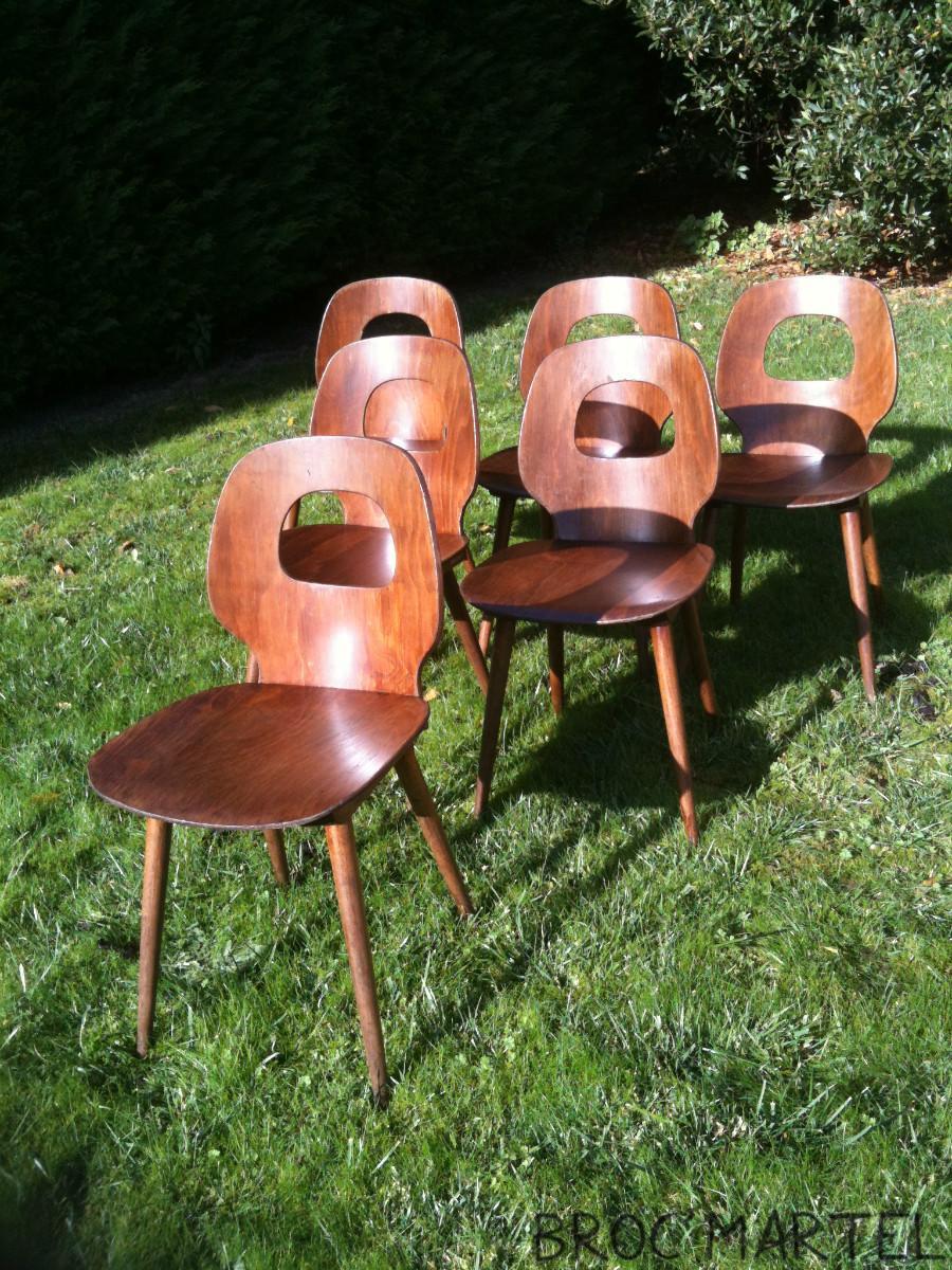 chaise baumann design vintage ann e 50 60 archives boutique broc martel. Black Bedroom Furniture Sets. Home Design Ideas
