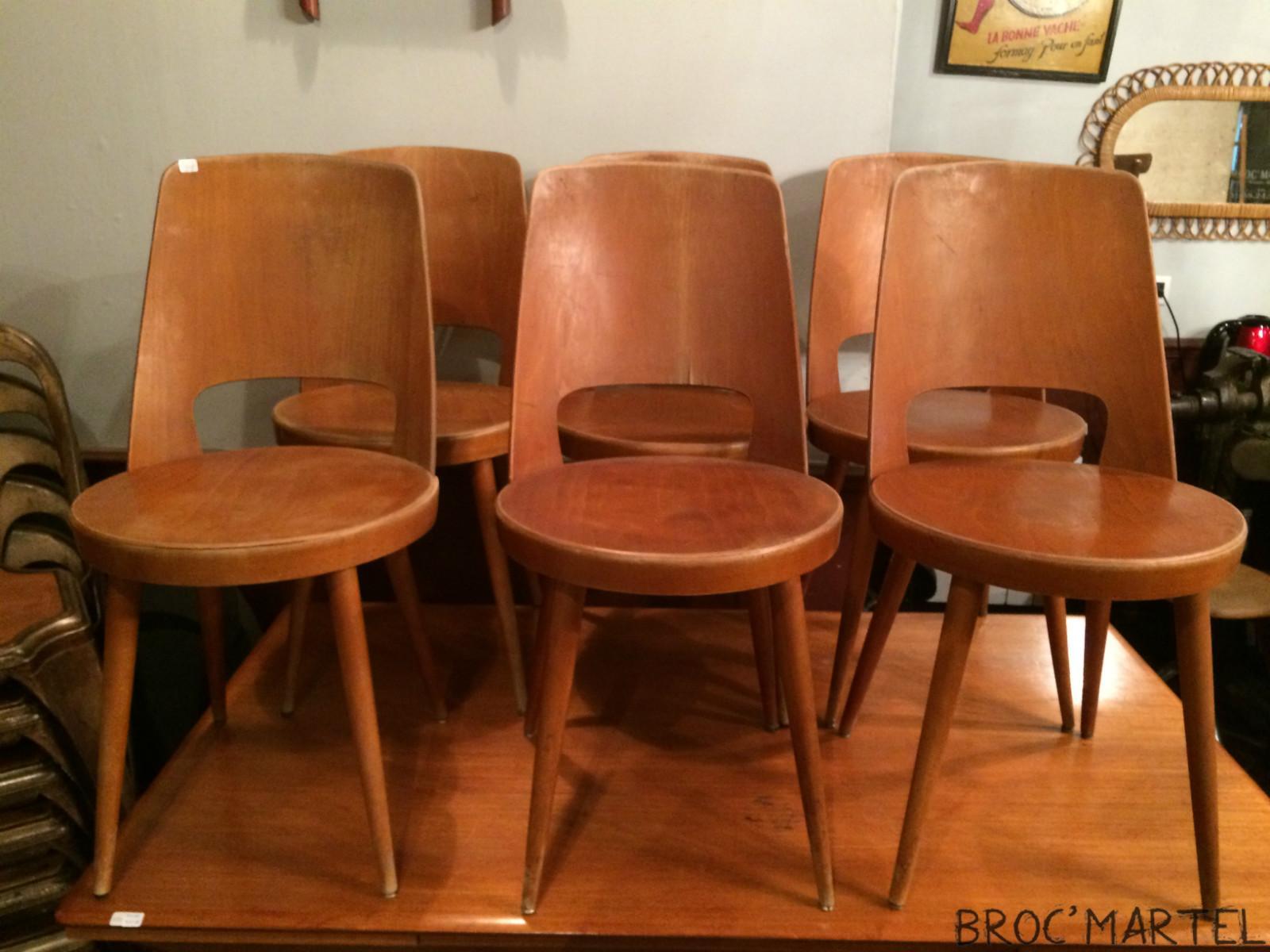 lot de 6 chaises baumann archives boutique broc martel. Black Bedroom Furniture Sets. Home Design Ideas