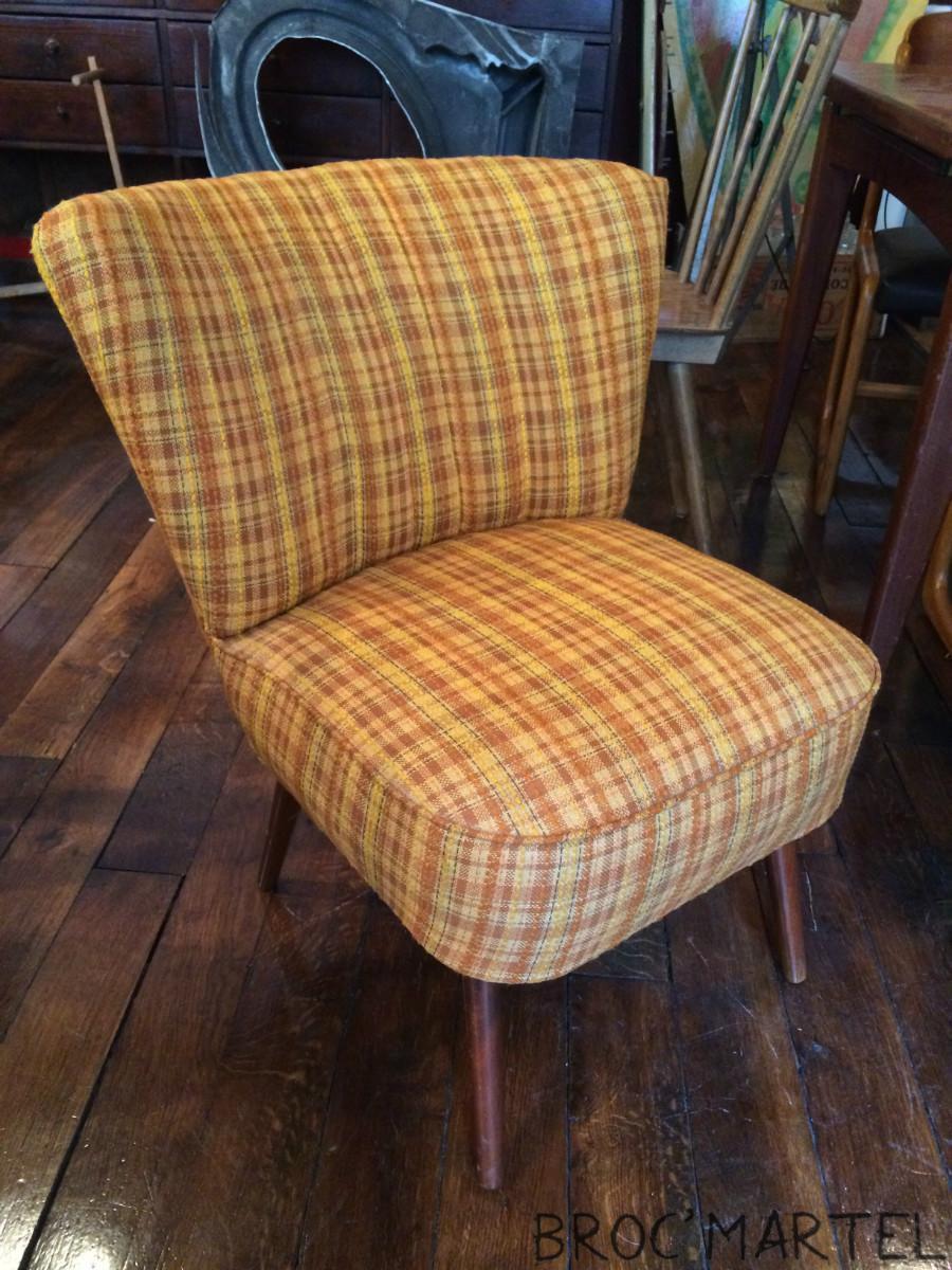 fauteuil cocktail vintage archives boutique broc martel. Black Bedroom Furniture Sets. Home Design Ideas