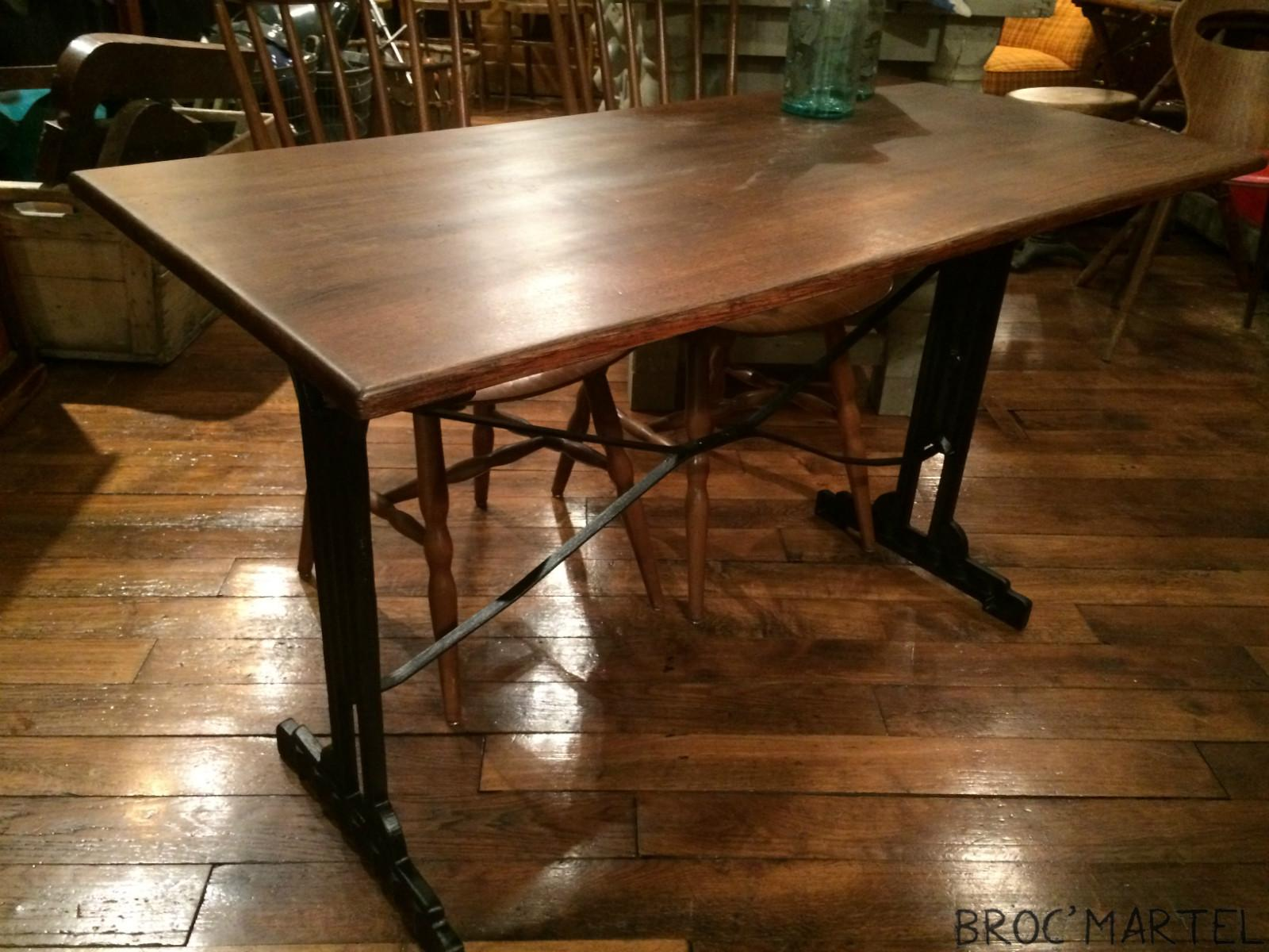 table de bistrot ann e 30 archives boutique broc martel. Black Bedroom Furniture Sets. Home Design Ideas